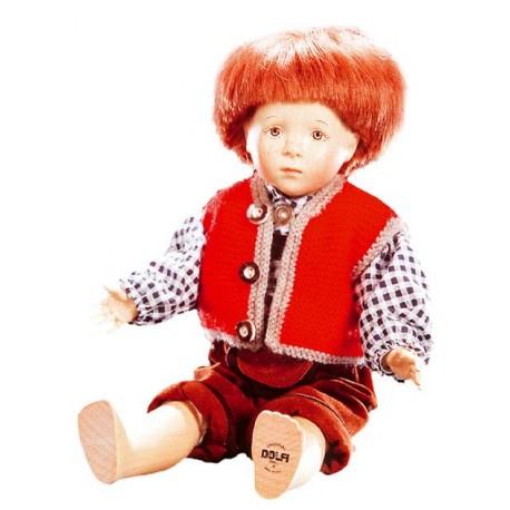 Le bambole in legno fatte a mano sono autentici pezzi d'arte