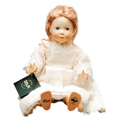 Wood Doll Elisa for Collectors