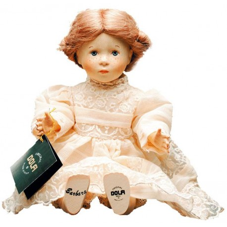 Collectible Wooden Doll Barbara - Dolfi 60Th Wedding Anniversary Gifts - Made in Italy