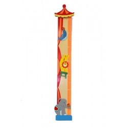 Meterstab - Dolfi beste Freundin Geschenk, diese Holzfigur zählt zu den edlen Grödner Schnitzereien