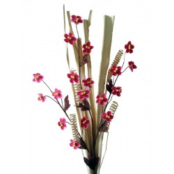 Pink Wooden Flowers