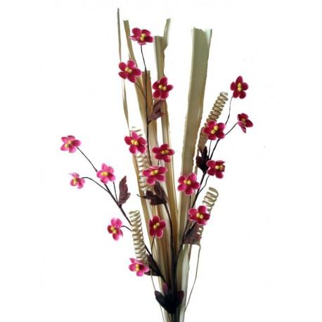 Holz Blume Adventsdeko