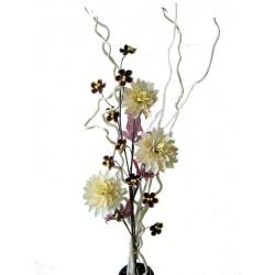 Blumen aus Holz