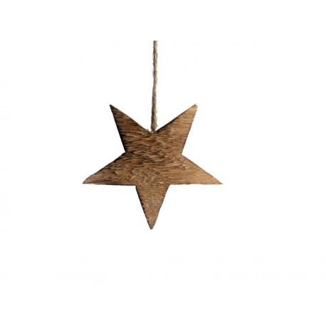 Stern zum Hängen 12cm