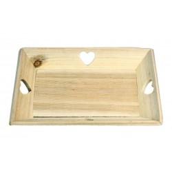 Vassoio di legno massello per ogni evento quotidiano