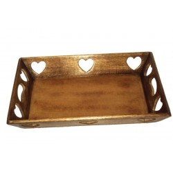 Walnut Tray or Bread Box 18 X 12 X 65 inches Creative Birthday Gifts for Husband - Made in Italy