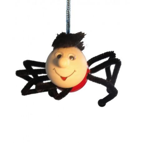 Spinne aus Holz Hüpferle als Schwingfigur