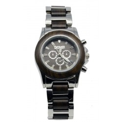 Wooden Watch for Woman in Nut wood and Steel – Virginia - Dolfi Gifts for Women 2021 - Made in Italy