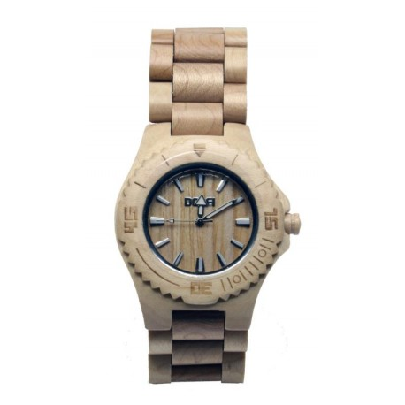 Wooden Watch Unisex in maple – Arnold - Dolfi Christmas Gifts 2021 for him - Made in Italy