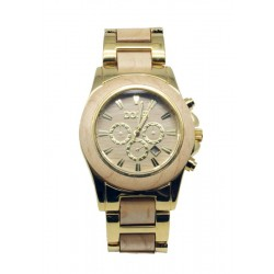 Wooden Watch for Woman in maple and Steel  - Sirius - Dolfi Wooden Watches for Men - Made in Italy