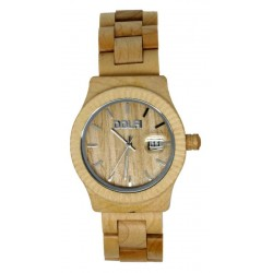 Wooden Watch for Man in maple wood - Felix - Dolfi Truwood Watches - Made in Italy