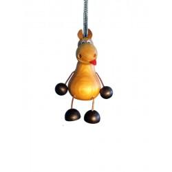Spring Wooden animal - Horse - Dolfi Souvenir Shop Near Me - Made in Italy