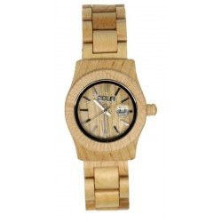 Wooden Watch for Woman in maple wood - Sarah - Dolfi best Wooden Watches - Made in Italy