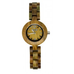 """Orologio realizzato in legno """"Renata"""""""