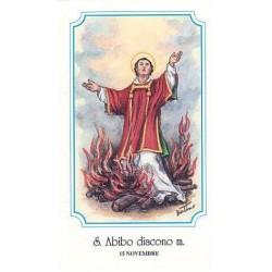 """San Abibo di Edessa """"Diacono e martire"""""""