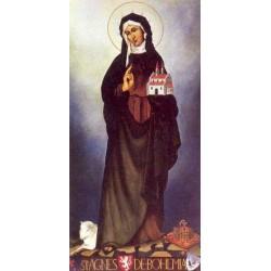 "Sant 'Agnes of Bohemia ""Princess, Abbess"""