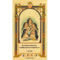 "Beate Agnese, Maddalena, Caterina, Bianca e Marianna ""Monach"
