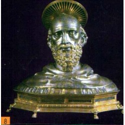 """San Baldwin (Balduino) von Rieti """"Abate"""""""