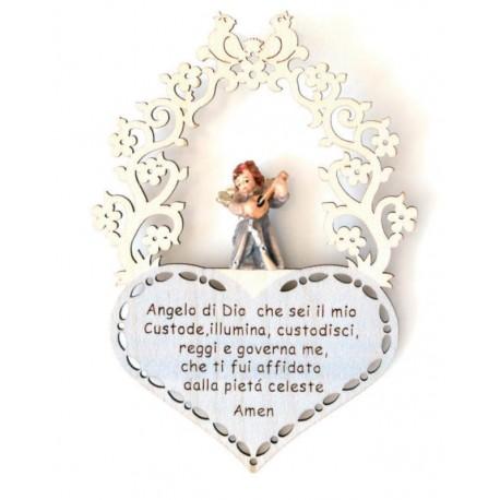 Guardian Angel with Prayer