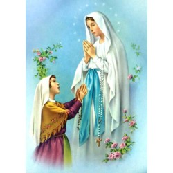 Our Lady of Lourdes """"