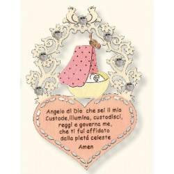 Little prayer for newborn Swarovski