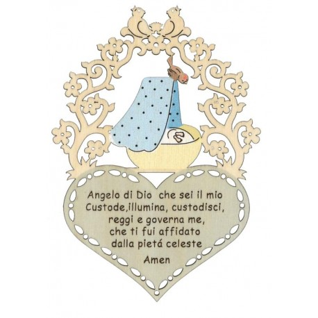 Little Prayer for New-Born - Dolfi Long Distance Relationship Gifts - Made in Italy