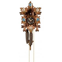Orologio a cucù scolpito in legno