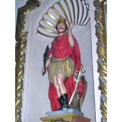 "San Fabiano ""martyr venerated in Scopello"