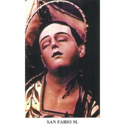 "San Fabio and fellow ""Martyrs in Sabina"""