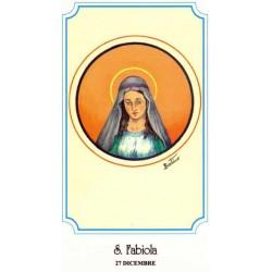 """Santa Fabiola von Rom """"römischen Matrone"""""""