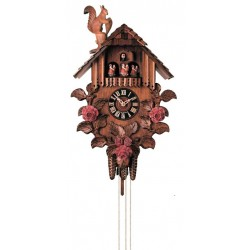 German Cuckoo Clock with Deer Head - Dolfi 5Th Wedding Anniversary - Made in Italy