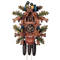 Kuckucksuhr, Dolfi Geschenk Schwiegermutter, diese Holzschnitzerei ist eine edle Grödner Holzfigur