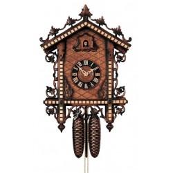 Kuckucksuhr | Dolfi Geburtstagsgeschenk Schwester, diese Holzfigur ist eine edle Grödner Schnitzerei