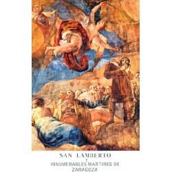 """St. Lambert von Saragossa """"Martyr"""""""