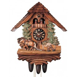 Black Forest Chalet Cuckoo Clock - Dolfi Wedding Present Ideas - Made in Italy