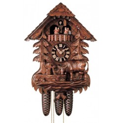 Chalet Style Cuckoo Clock - Dolfi best Gifts - Made in Italy