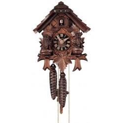 Kuckucksuhr, Dolfi Firmung Geschenk, diese Holzfigur ist eine echte Grödner Holzschnitzerei