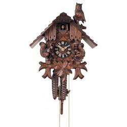 Kuckucksuhr, Dolfi Geburtstagsgeschenk Mutter, diese Holzskulptur ist eine edle Grödner Schnitzerei