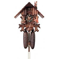 Kuckucksuhr, Dolfi Geschenke zur Jugendweihe, diese Schnitzerei ist eine echte Südtiroler Holzfigur