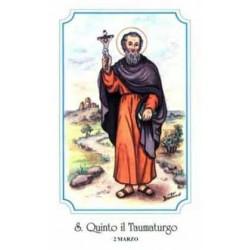 "San Quinto il Taumaturgo"""""