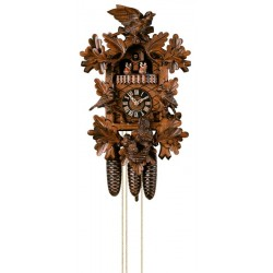 Wall Clock with Cuckoo Bird