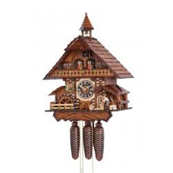 Orologio da parete a cucù in legno