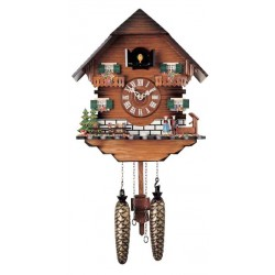 Wooden Cuckoo Wall Clock