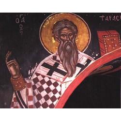 """San Tarasio """"Patriarch of Constantinople"""""""