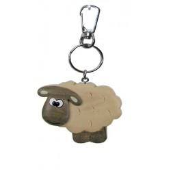 Schaf, Dolfi Schlüsselanhänger aus Holz selber machen, diese Kreation ist in Gröden hergestellt