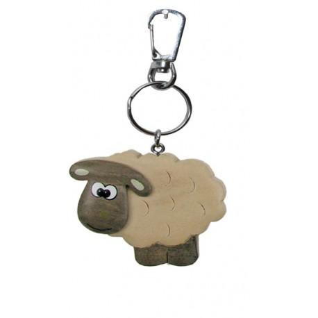 Sheep, Dolfi keychain wood
