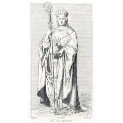 """Sant 'Uberto von Tongeren-Maastricht """"Bischof"""""""