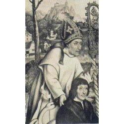 """Sant 'Hugo von Grenoble """"Bischof"""""""