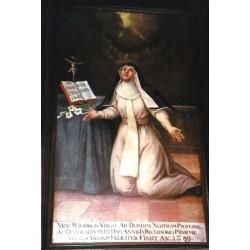 """Beata Wilbirg (Vilburga)""""Reclusa di S. Florian"""""""