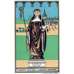 "Santa Wivine (Vivina) ""Benedictine Abbess"""